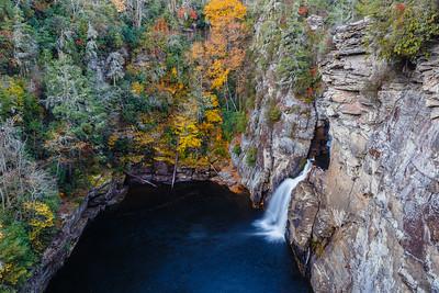 Linville Falls - Lower Falls
