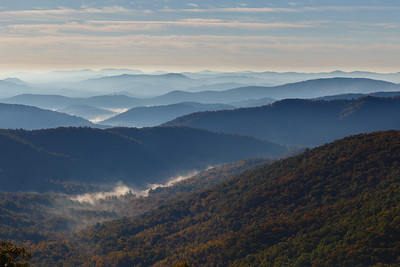 An example of why it's called the Blue Ridge Parkway