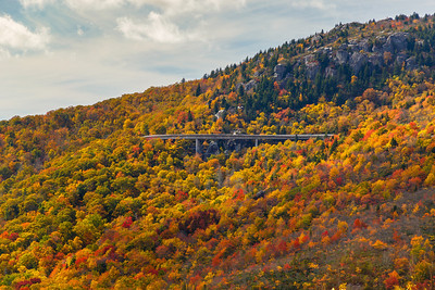 Linn Cove Viaduct, an historic addition to the Blue Ridge Parkway