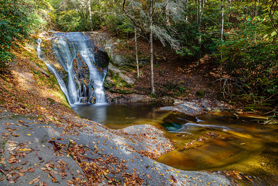 Widow Creek Falls, Stone Mountain State Park