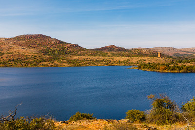 Lake Jed Johnson - Wichita Mountains National Wildlife Refuge