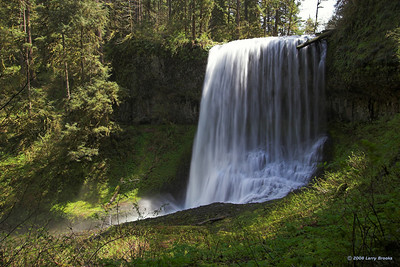 Middle North Falls at Silver Falls SP