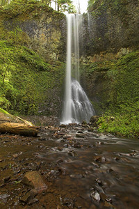 Double Falls, Silver Falls SP