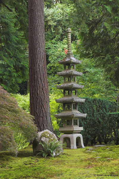 A peaceful setting in Portland's Japanese Gardens