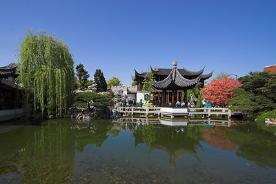 The Chinese Gardens in Portland