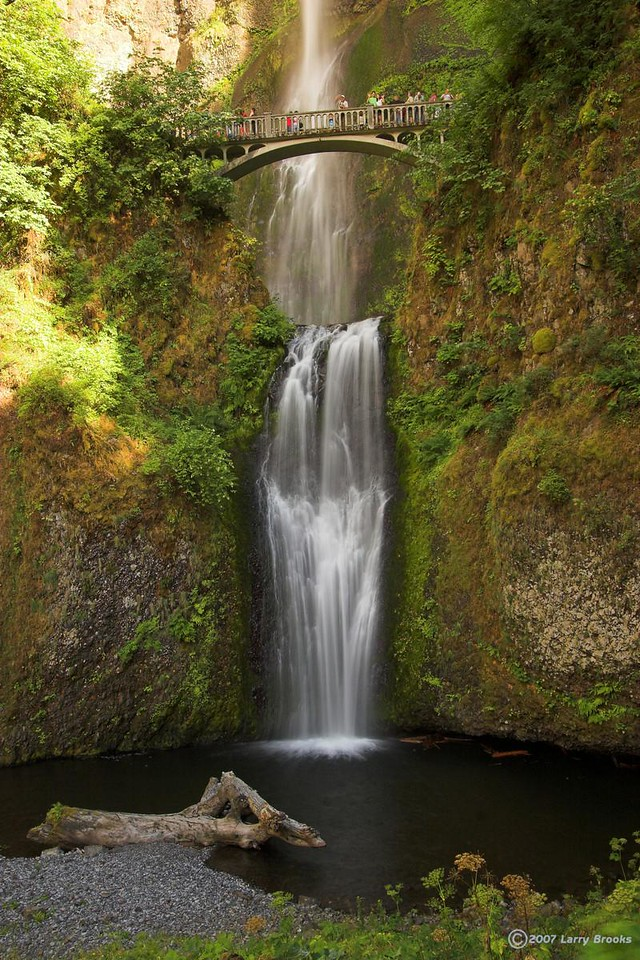 Multnomah Falls in the Columbia River Gorge National Scenic Area