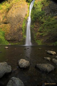 Horsetail Falls in the Columbia River Gorge National Scenic Area