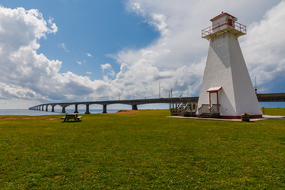 Port Borden Front Range Lighthouse and Confederation Bridge