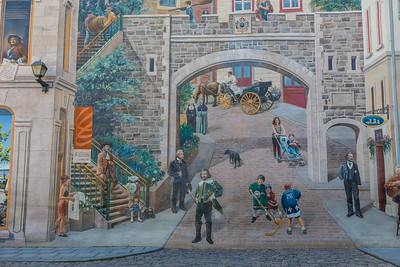 Quebec City Mural