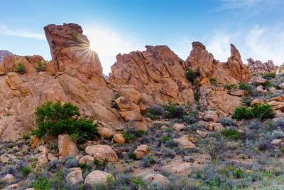 Unusual rock formations adorn the Grapevine Hills Trail in Big Bend National Park