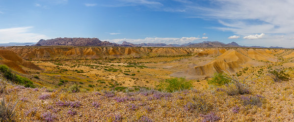 Badlands in Big Bend National Park