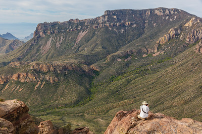 Mountain vistas from the Lost Mine Trail in Big Bend National Park (photo by Kerry Brooks)