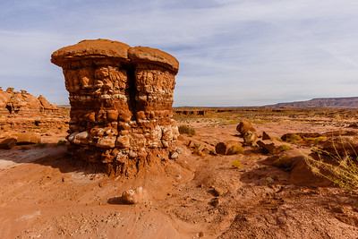 Fascinating rock formations at Recapture Pocket