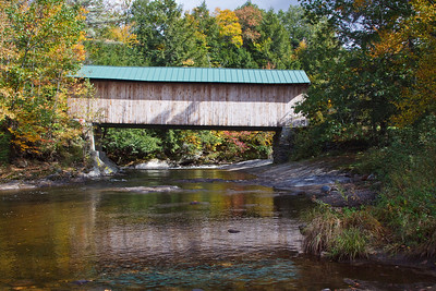 Covered bridge near Waterville
