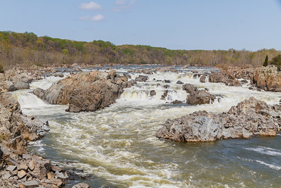 The Potomac River at Great Falls Park (McLean, VA)