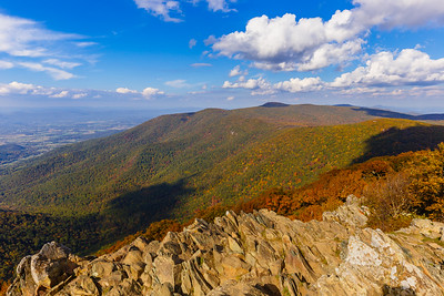 A fantastic view from Upper Hawksbill - Shenandoah National Park