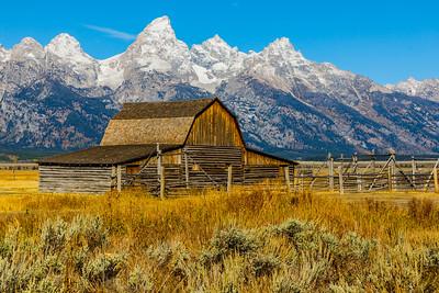John Moulton Barn - Grand Teton National Park