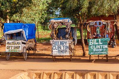 Gifts shops, Tanzania style!