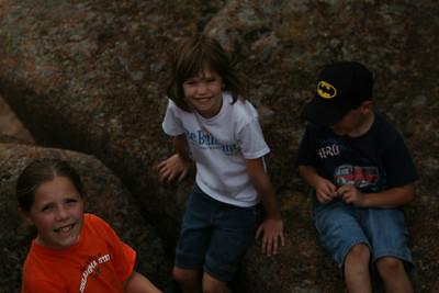 Wichita Wildlife Refuge Church Hiking Trip