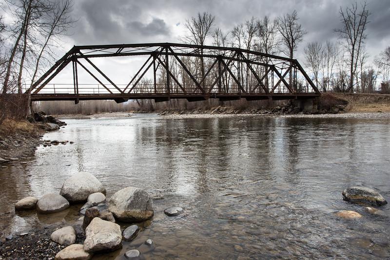 Bridge across the water. 8262