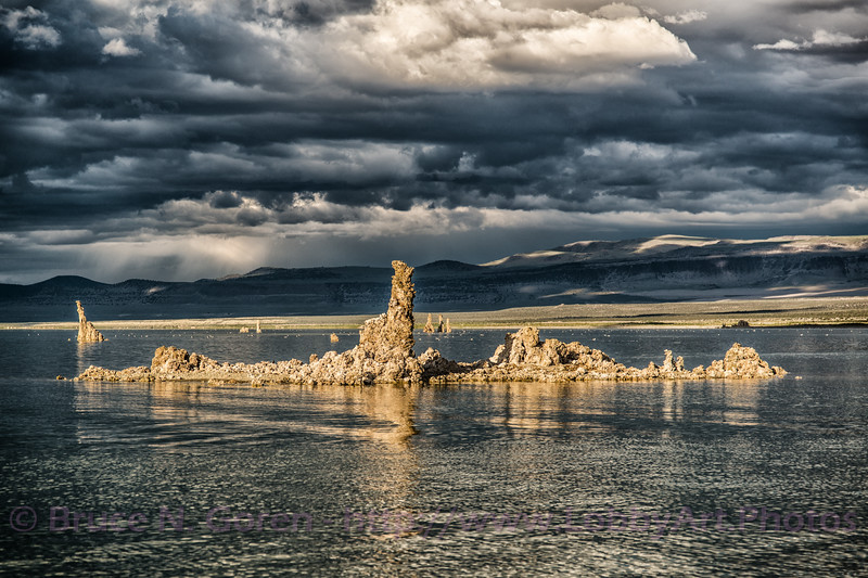 Mono Lake Cloudy Tufa