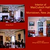 The Office and Dining Room in Macculloch Hall, Morristown