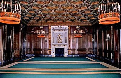 The Former Billiard Room in Shadow Lawn Mansion