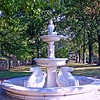 Fountain in the Italian Garden at Lambert Castle