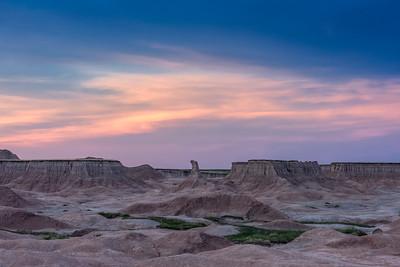 Badlands Bluehour