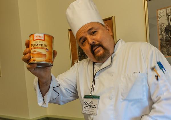 Chef Biagio Pumpkin Bread Demo