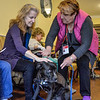 Residents learn from Marci and the dogs