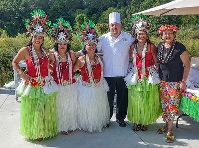 Greens Luau Feast