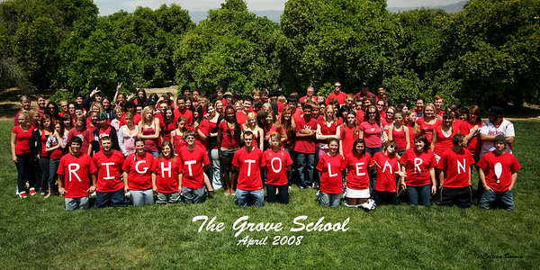 Grove School - group pictures