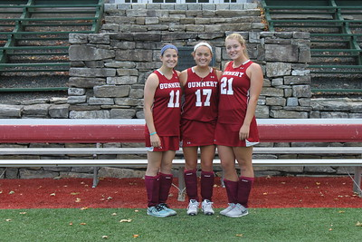 Girls Varsity Field Hockey Captains