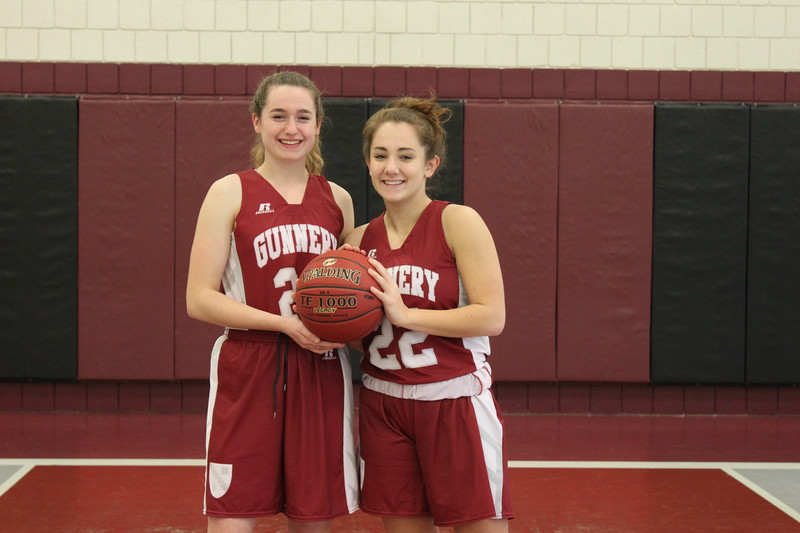 Girls Varsity Basketball Captains