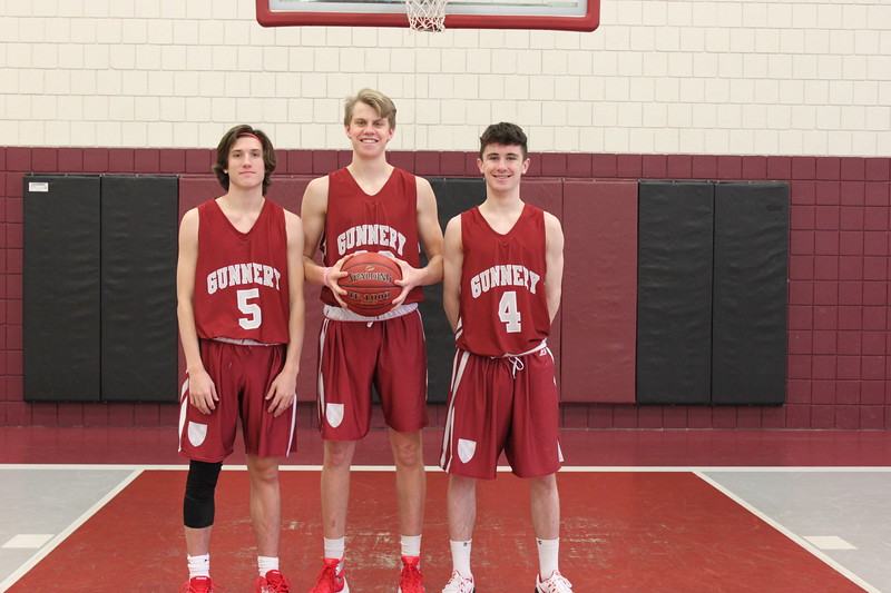 Boys Varsity Basketball Captains