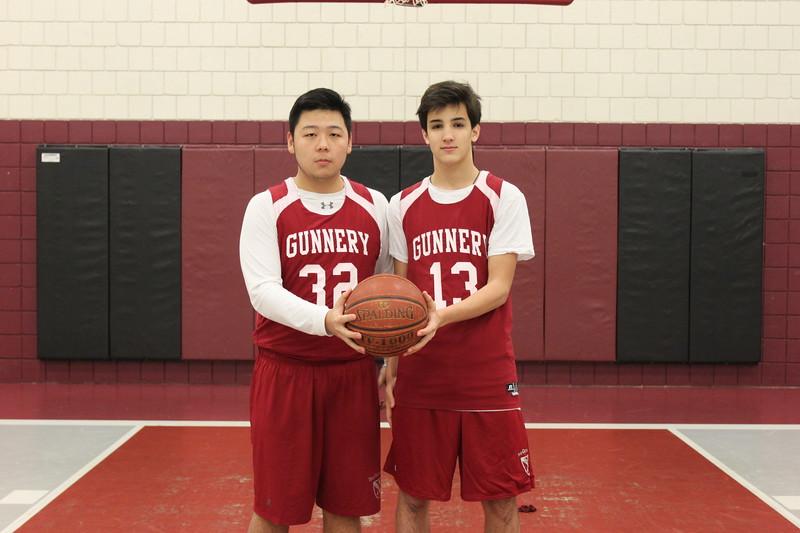 Boys 3rds Basketball Captains