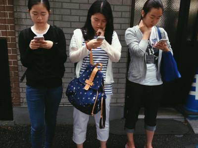 """Miranda Yang '17 """"Shinjuku Station"""""""