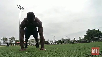 Superman Plank Hold