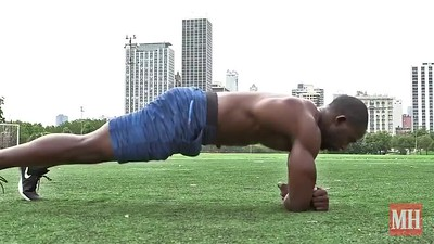 Side Plank Roll Through
