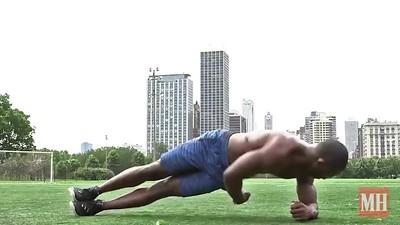 Side Plank reach Through