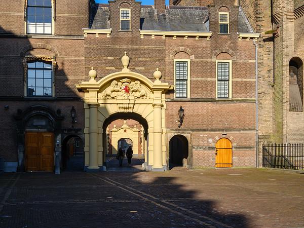 Binnenhof Gate, The Hague