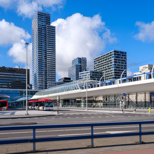 Bus Platform, The Hague