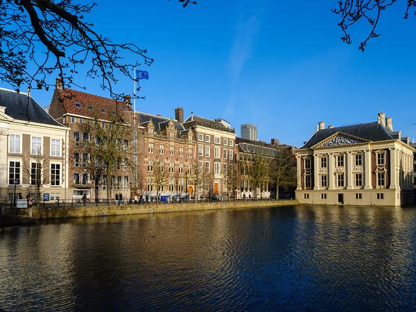 Mauritshuis on the Hofvijver