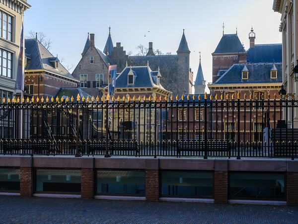 A view of the Binnenhof