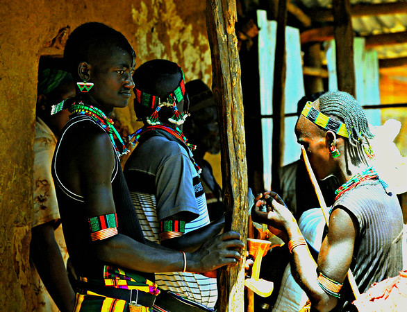 The Hamer Tribe, Dimeka Market