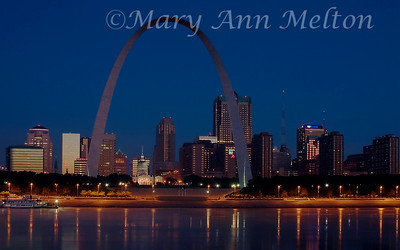 Dawn over St. Louis
