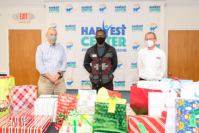 Poteet Printing System Check & Xmas Gifts Donation @ The Harvest Center 12-18-2020 by Jon Strayhorn