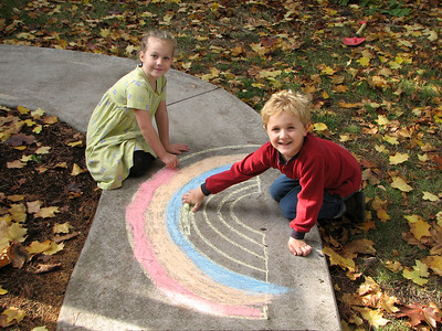 Ethan and Hanna. October 20, 2006