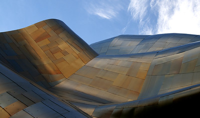 Experience Music Project's roof.